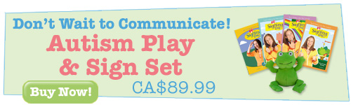 Autism Play and Sign Set. Don't wait to communicate!